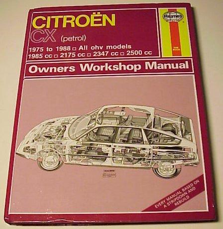 jose gavila s citro n cx pages cx books and information rh jvgavila com Online Repair Manuals Haynes Repair Manuals Mazda
